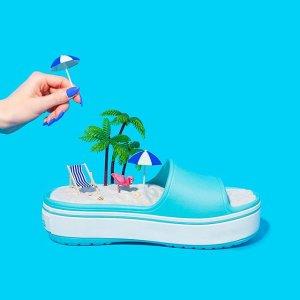 额外5折 低至$10+Crocs官网 限时欢乐特卖 夏日必备洞洞鞋热卖