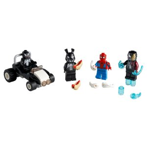 Lego4月1日上市蜘蛛侠对战毒液 人仔包 40454   UNKNOWN