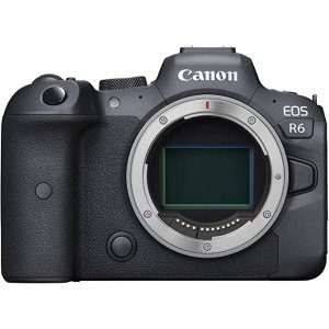 CanonEOS R6 Body Only Full Frame Mirrorless Camera, Black
