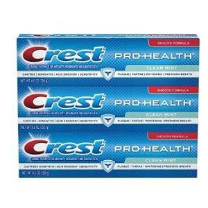 $5.49佳洁士Pro-Health薄荷味清洁牙膏 3支装