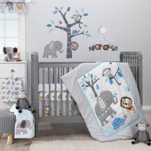 $27.18起 米奇四件套$39.99婴儿床品套装低至3.6折优惠,有机棉可选