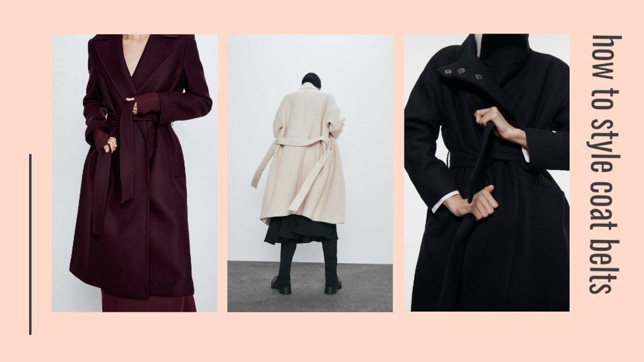 大衣腰带怎么系才好看?6种超简单实用的大衣腰带系法,手残党码起来!