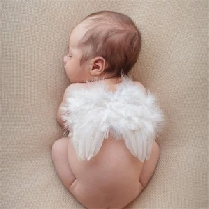 Baby / Toddler Angel Feather Wings Photo Props