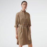 Burberry 格纹衬衫裙