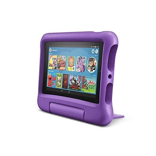 全新 Fire 7 7吋屏幕16GB儿童平板电脑 紫色