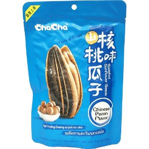 Cha Cha Roasted Sunflower Seeds Chinese Pecan Flavor – 洽洽山核桃味瓜子