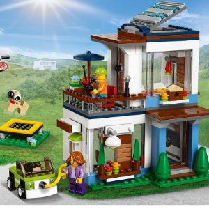 $39.99LEGO 乐高 Creator 创意百变系列 31068 现代独栋别墅  386块