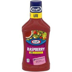 Kraft Light Raspberry Vinaigrette Salad Dressing 16oz : Target