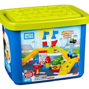 $10.89白菜价:Mega Bloks 赛车积木玩具套组