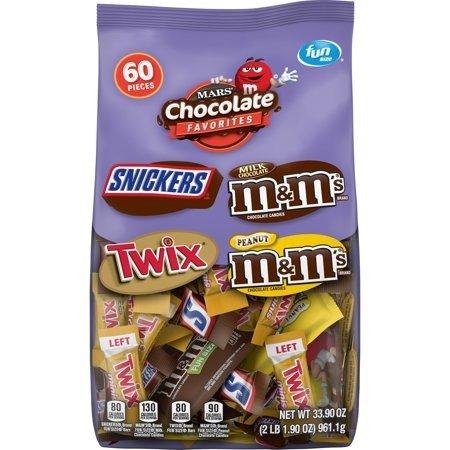 万圣节主题巧克力综合包装 60颗装