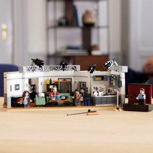 Lego8/1上市,VIP于7/21提前购Seinfeld 21328   Ideas