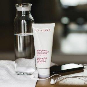 全线7.5折+送礼 敏感眼卸妆专用Clarins娇韵诗 卸妆洁面产品 折扣大酬宾 感受天然护肤的温和力量