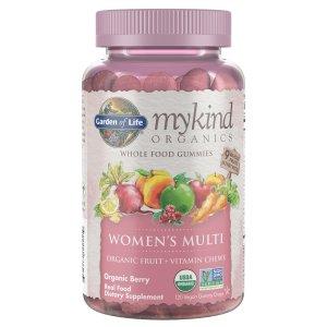 Garden of Life女性复合维生素 软糖 120粒