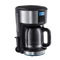russell hobbs 白金汉过滤咖啡机,1.25升,黑色/银色