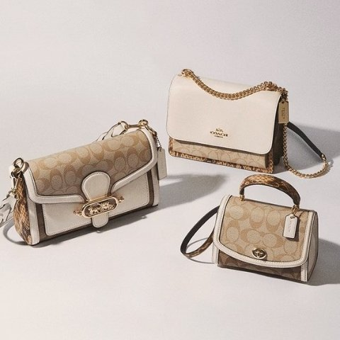 Extra 10% Off Orders $99+Dealmoon Exclusive: Coach Outlet Bags, Clothing and Accessories Sale