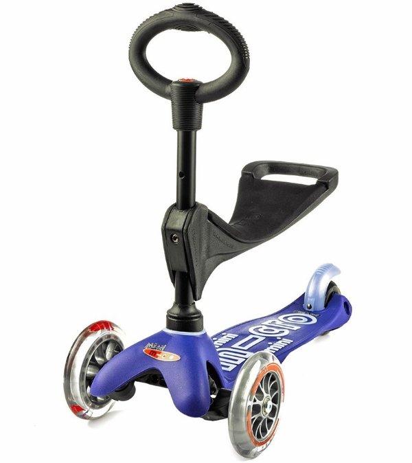 Micro Mini 3合1幼儿及儿童滑板车