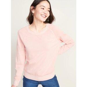 GapVintage Crew-Neck Sweatshirt for Women