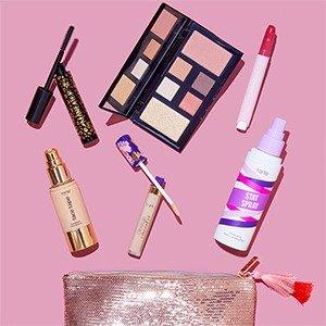Pick 7 Full Size for $63Tarte Shop Custom Beauty Kit Sale