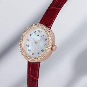 变相4.1折! €92就收精致手表阿玛尼 手表全线大促 带上秒变白富美 佟丽娅也超爱