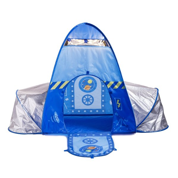 弹出式儿童火箭帐篷