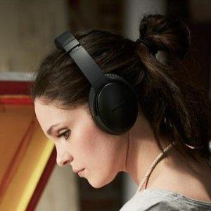 $209.99(原价$399.99)Bose QC35i 无线降噪耳机 官方翻新版 黑银两色可选