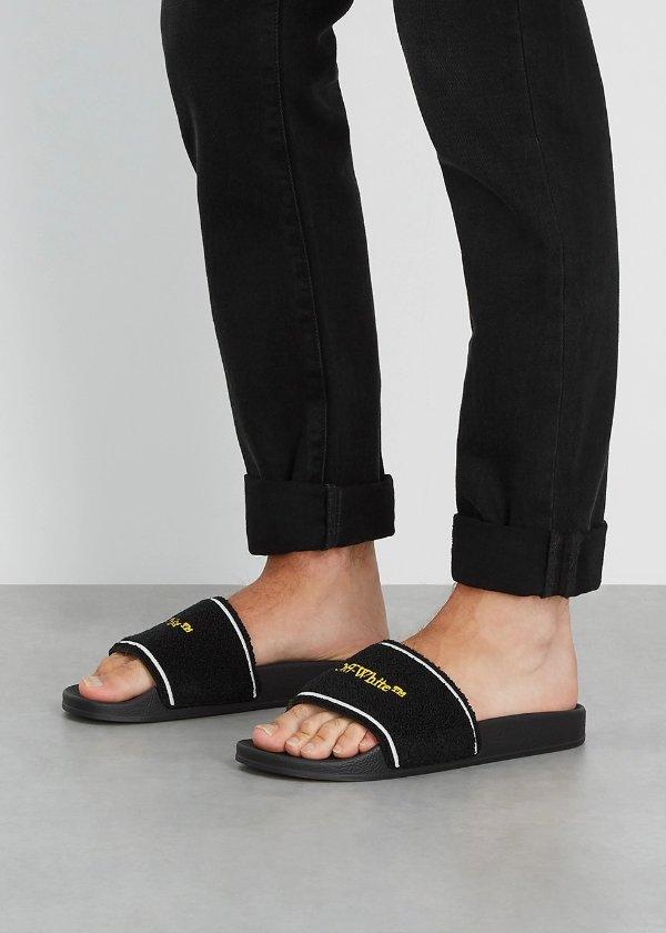 刺绣logo 拖鞋