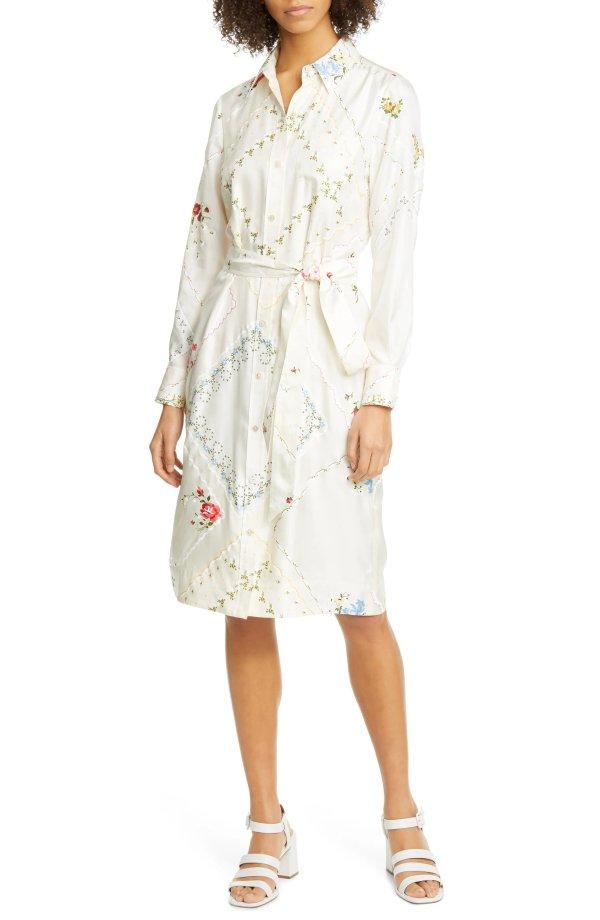 刺绣连衣裙