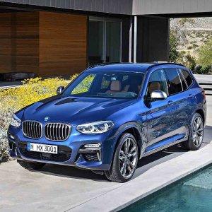 俊朗新面孔,豪华革新全新 2018 BMW X3 SUV