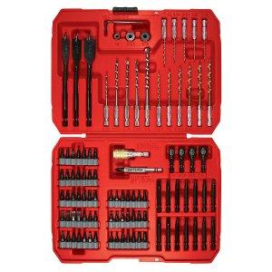 $14.99(原价$29.99)Craftsman Speed-Lok 100件套冲击钻电动螺丝刀配件