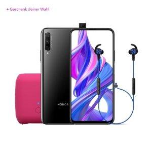 Honor礼品2选1(耳机/音箱)9X PRO 安卓智能手机 黑色