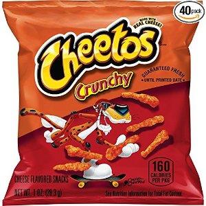 Cheetos 奇多原味原味粟米条, 1 oz 40包