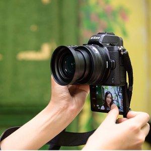 8折起Nikon 单反相机专场 购Z50送好礼
