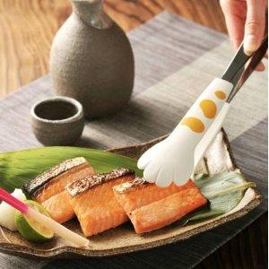 粉爪夹 $16.4(原价$19.3)猫爪食物夹 萌化少女心的猫咪硅胶爪 洗碗机可清洁 日本制造