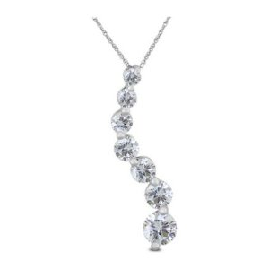 $3971 Carat Diamond Pendant @ Szul.com