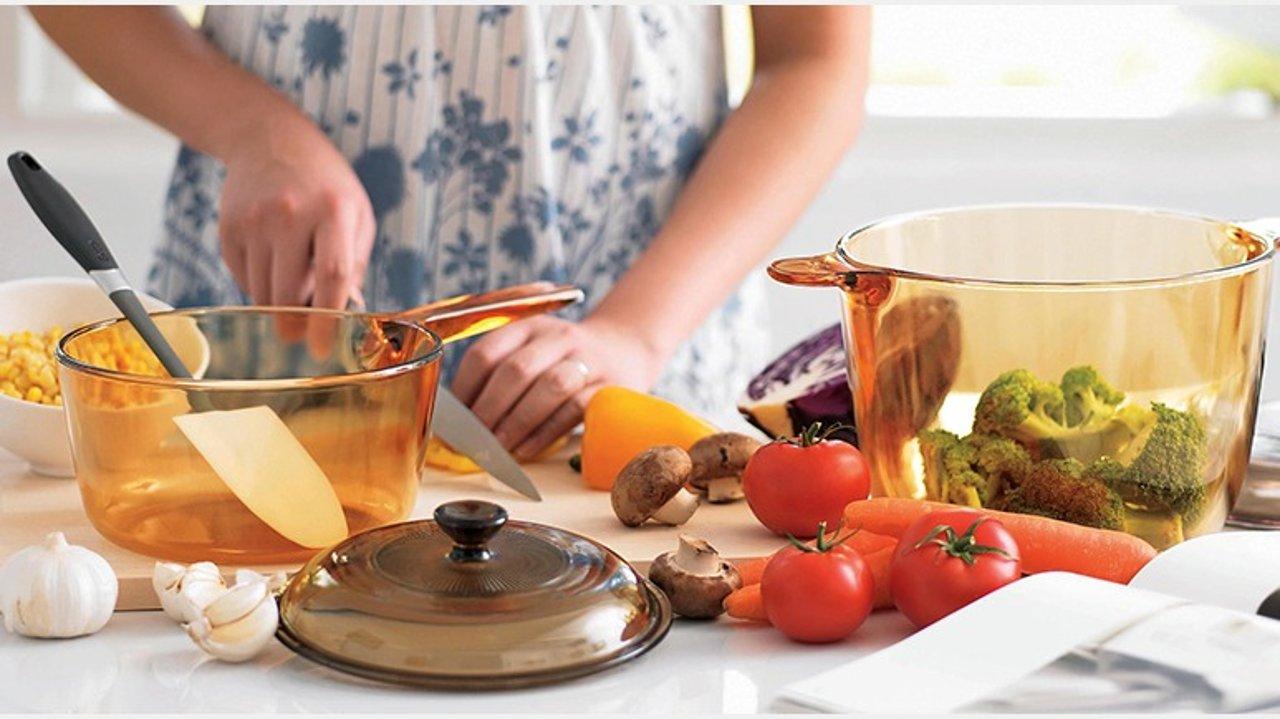 康宁晶彩锅测评+菜谱:或许,你和美食博主间只有一口锅的距离