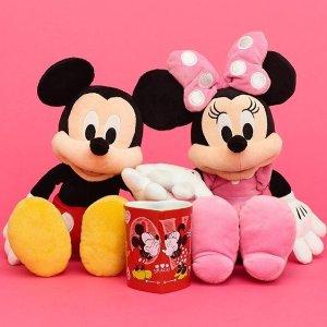 满£65享8折 £4收米奇购物袋Disney官网 情人节热促 公仔、马克杯、周边卫衣好价收