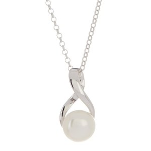 7b7443403f TARA PearlsSterling Silver 8-8.5mm White Freshwater Cultured Pearl Pendant