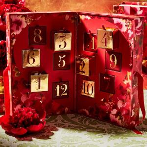 直接7折 仅售€168+神秘礼盒网络星期一:Estee Lauder 圣诞香水日历登场 12格惊喜速收