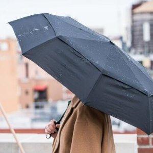 $22.9(原价$35.95)Repel 超轻防风自动开合雨伞 4.5星好评 9骨加强抵御强风