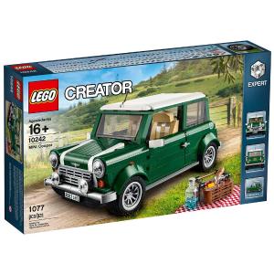 $95.97 (原价$132)LEGO 创意大师系列 10242 Mini Cooper 积木套装