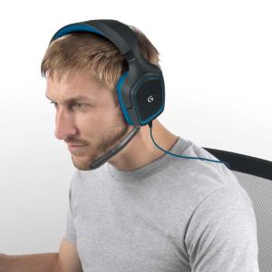 现价£36.99(原价£69.99)罗技Logitech G430头戴式游戏耳机