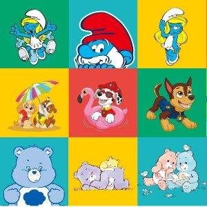 额外8折 $1.8起 宝宝连体衣PatPat x Smurfs/PAW/Care Bears 三家联名 宝宝的专属衣柜