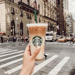 Buy One Get One FreeStarbucks Happy Hour Activities