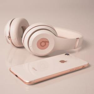 现价£159(原价£249.95)Beats Solo3 无线头戴式耳机(玫瑰金)特卖