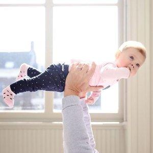 低至4.5折 宝宝打底裤$6.5Noppies 欧洲设计风格婴儿服饰 有机棉材质 柔软舒适