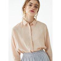 Uniqlo 亚麻混纺中袖衬衫 多色可选