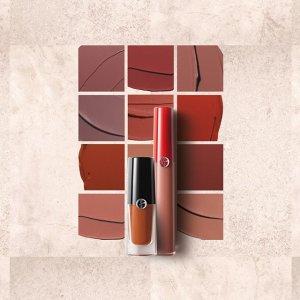 低至6折+任意单免邮Armani Beauty 折扣区 收经典口红套装、Prive系列香水