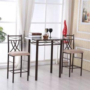 Hodedah Imports桌椅3件套