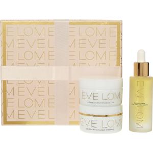 EVE LOM 19年圣诞套装 含卸妆膏50ml+正装面油+保湿面膜50ml