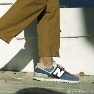 低至5折!€54就收复古跑鞋New Balance官网 入门跑鞋574专场 经典复古超多配色